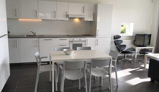 Hals Strand Ferielejligheder med havudsigt 71m2 Køkken