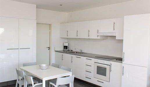 Hals Strand Ferielejligheder 71m2 Køkken