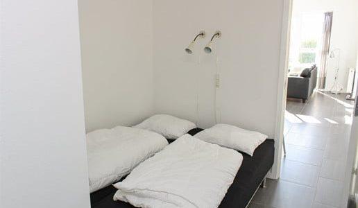 Hals Strand Ferielejligheder 71m2 soveværelse 2 af 2