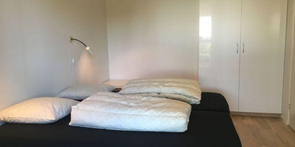 Hals Strand Ferielejligheder 80m2 4 pers. soveværelse nr. 2 af 2