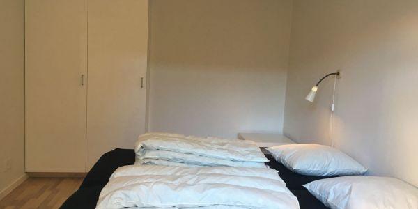 Hals Strand Ferielejligheder 80m2 soveværelse 1 af 2