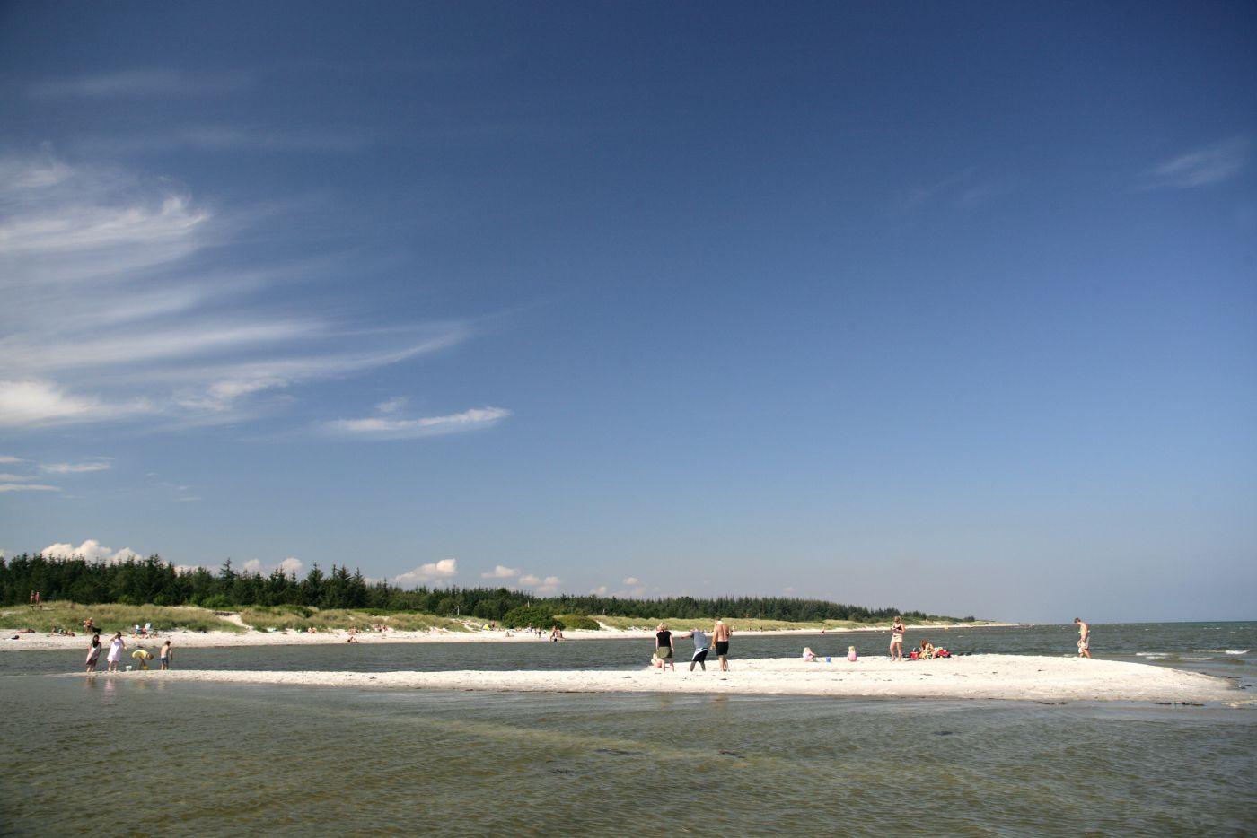 Hals Strand Camping børnevenlig strand