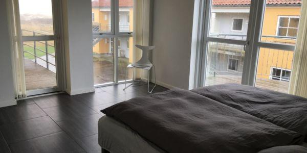 Hals Strand Ferielejligheder Master bedroom