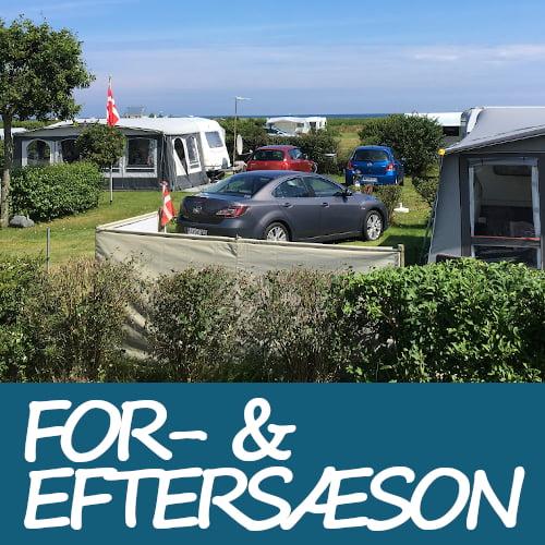 For- & eftersæson tilbud Hals Strand Camping